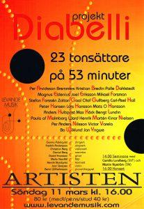 Affisch - Diabelli-projektet ver1