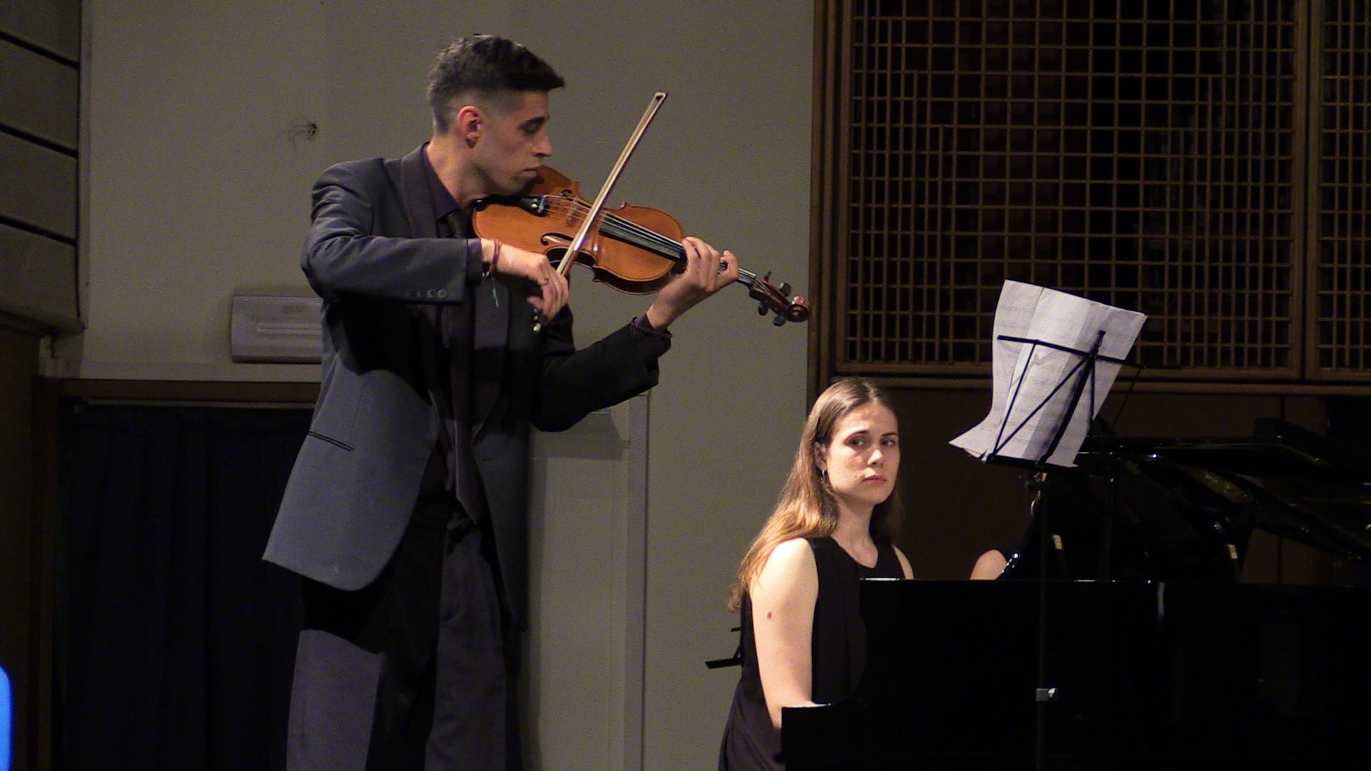 Essentia [vl & pno] – first performance by Duo NED Ensemble @Desenzano, Italy