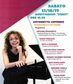 'Oceans of Time' performed @Conservatorio Vecchi-Tonelli in Moden, Italy