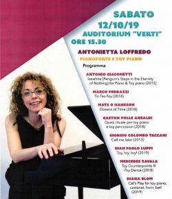 'Oceans of Time' framfört @Conservatorio Vecchi-Tonelli of Modena